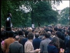 Speakers' Corner in Hyde Park