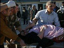 Woman injured in Kirkuk bombing - 11 December 2008