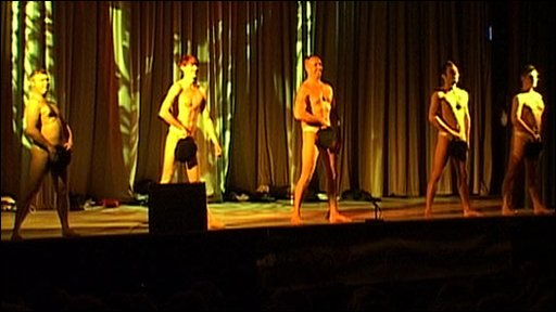 The Full Monty at Suffolk HAS Talent 2009