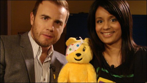 Gary, Pudsey and Sonali