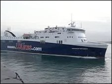 The Norman Voyager ferry