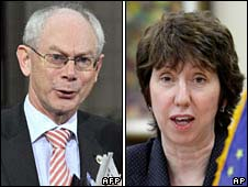 Herman van Rompuy and Baroness Catherine Ashton