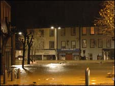 Flooded centre of Cockermouth (pic: Ashley Tiffen)