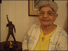 Freddie Mercury's mother Jer Bulsara