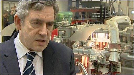 Prme Minister Gordon Brown
