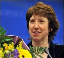 Catherine Ashton, 19 November in Brussels