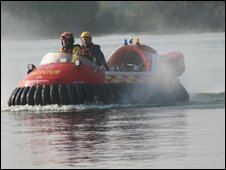 Gloucestershire County Council hovercraft