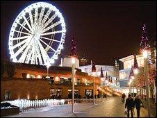 Liverpool One Wheel
