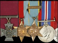 Victoria Cross. Pic by Spink/PA Wire
