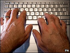 Laptop keyboard (Image: PA)