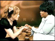 Nicole Kidman and Oprah Winfrey