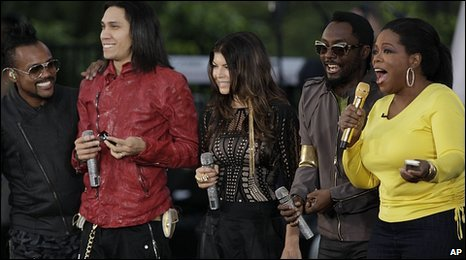 The Black Eyed Peas with Oprah Winfrey