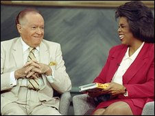 Oprah Winfrey and Bob Hope