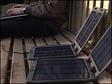 Solargorilla charger by Powertraveller