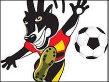 Angola 2010 logo