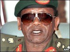 Nigeria's former leader General Sani Abacha, file image