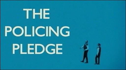 Policing Pledge advert