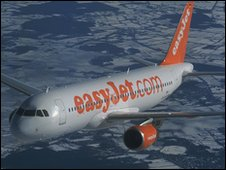 Bbc news easyjet in french court over labour laws for Interieur avion easyjet