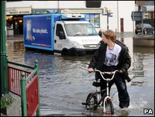 Flooding in Keswick