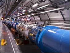 LHC tunnel (Cern/M.Brice)