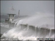Severe weather in Plymouth