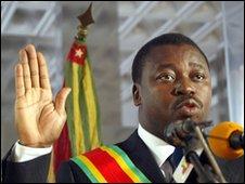 Faure Gnassingbe Eyadema
