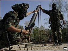 Militants in the Gaza Strip (13 Oct 2009)
