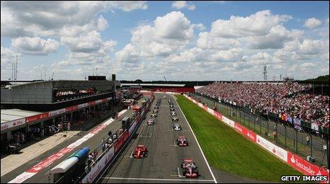 Silverstone in 2007