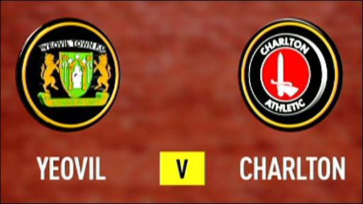 Yeovil 1-1 Charlton