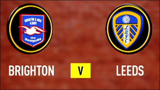 Live online football streaming: Watch Brighton v Leeds in the Npower Championship