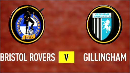 Bristol Rovers 2-1 Gillingham