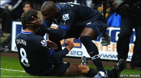 David Dunn and El-Hadji Diouf