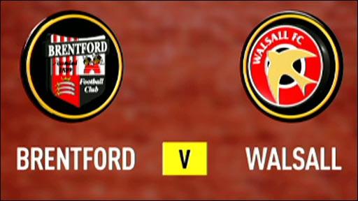 Brentford 1-1 Walsall