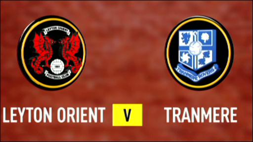 Leyton Orient 2-1 Tranmere