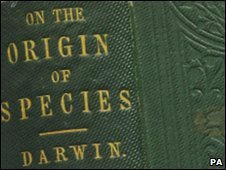 Cover of the Darwin book
