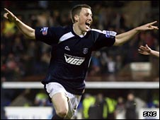 Dundee midfielder Craig Forsyth