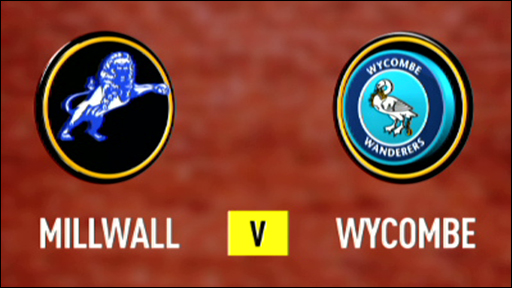 Millwall 0-2 Wycombe