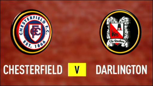 Chesterfield 5-2 Darlington