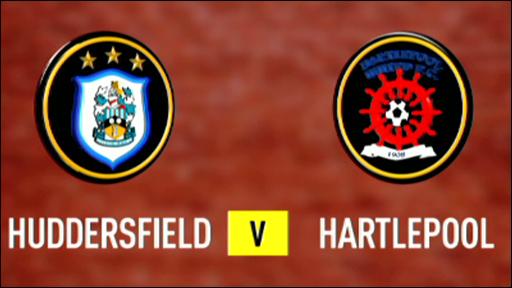 Huddersfield 2-1 Hartlepool