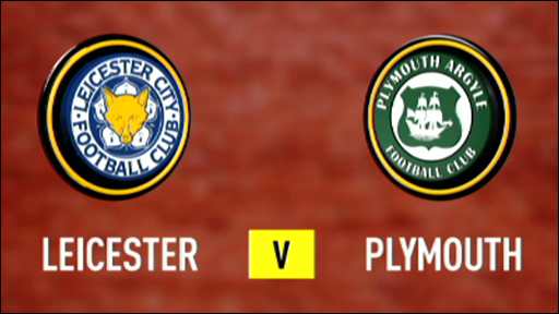 Leicester 1-0 Plymouth