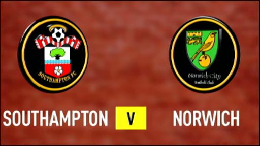 Southampton 2-2 Norwich