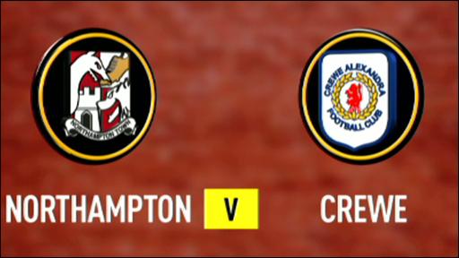 Northampton 2-2 Crewe