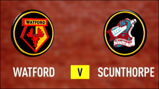 Watford 3-0 Scunthorpe