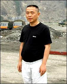 Chinese rights activist Huang Qi