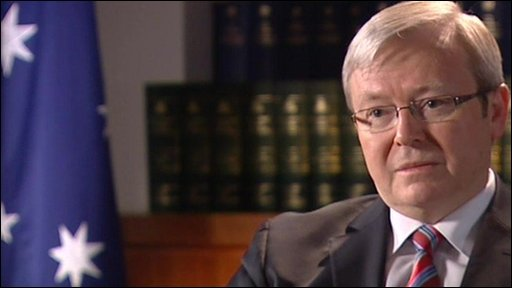 Prime Minister Rudd hopes that a legally binding document can be reached in 2010
