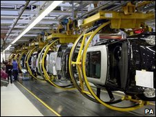 BMW's Mini assembly plant in Oxford