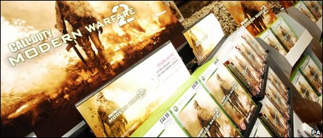 Modern Warfare 2 on sale, PA