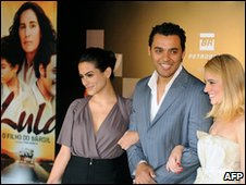Actors at the Brasilia Film Festival