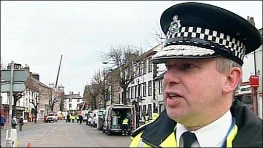 Chief Constable of Cumbria Police Craig Mackey