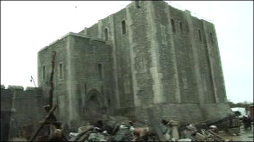 Rochester Castle set